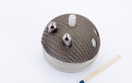 Kugelpfanne mit Titannetz
